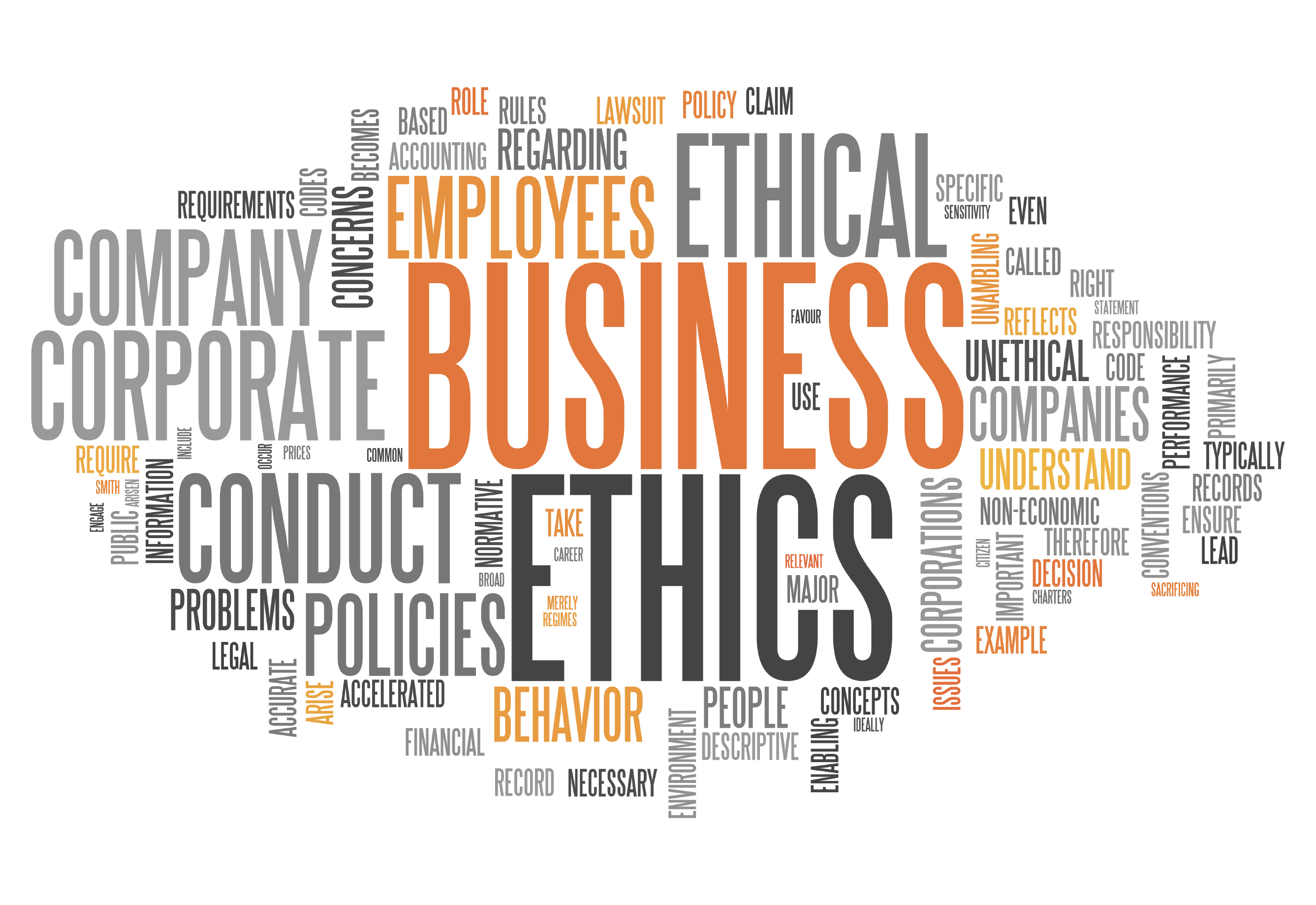 business ethics is more a matter of religion than management Companies that lay the framework for business ethics in all facets of operation are more likely to become and remain profitable than those that conduct business in an unethical manner.